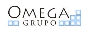 omega group logo negro